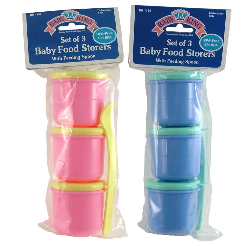 Baby Food Storers Set of 3