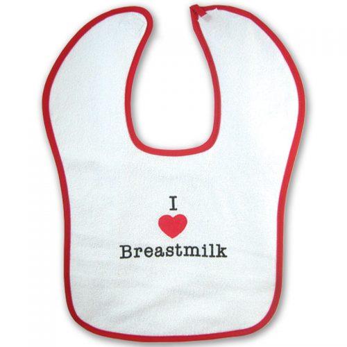 Breastfeeding I Love Breastmilk Bib