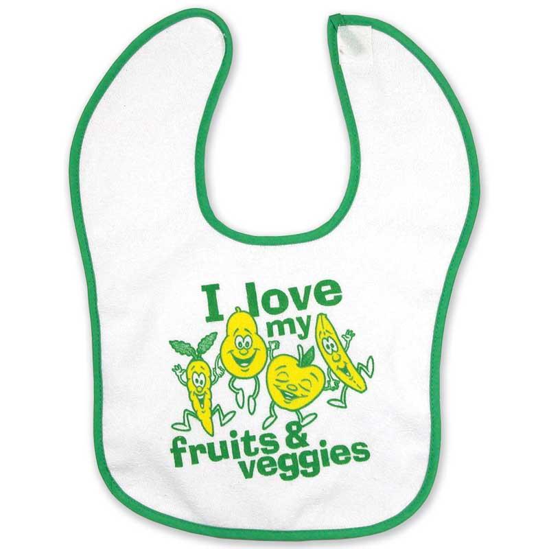 Fruit and Veggie bib