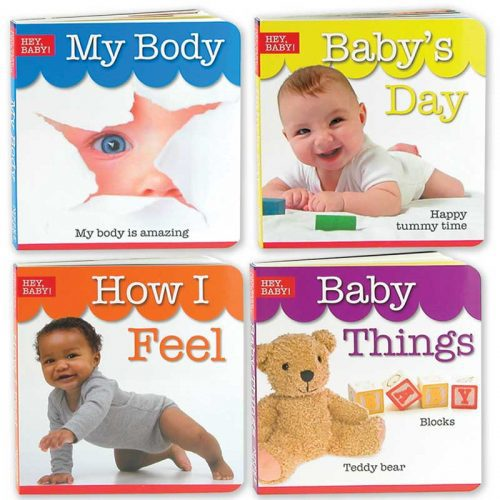 Hey Baby Board Book set
