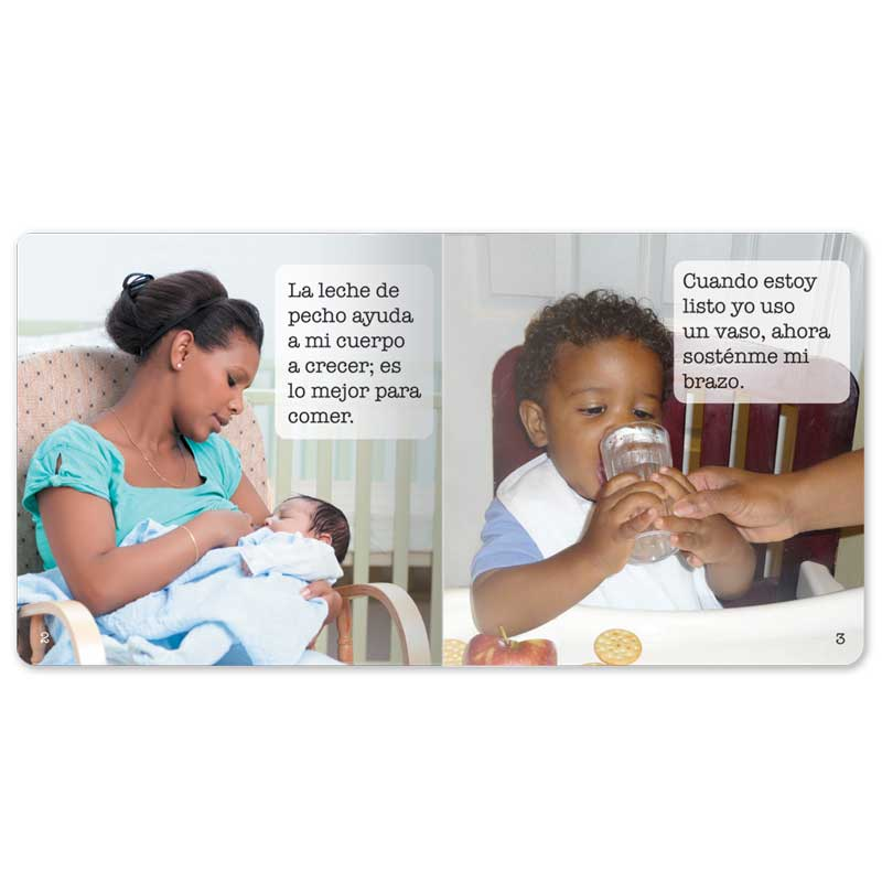 Eating Healthy Every Day Little Book - Spanish