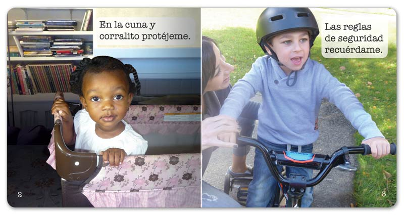 Safety around the Home Little Book - Spanish