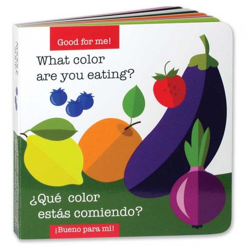 What Color Are You Eating board book