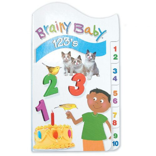 Brainy Baby Tabbed Board Book - 123's