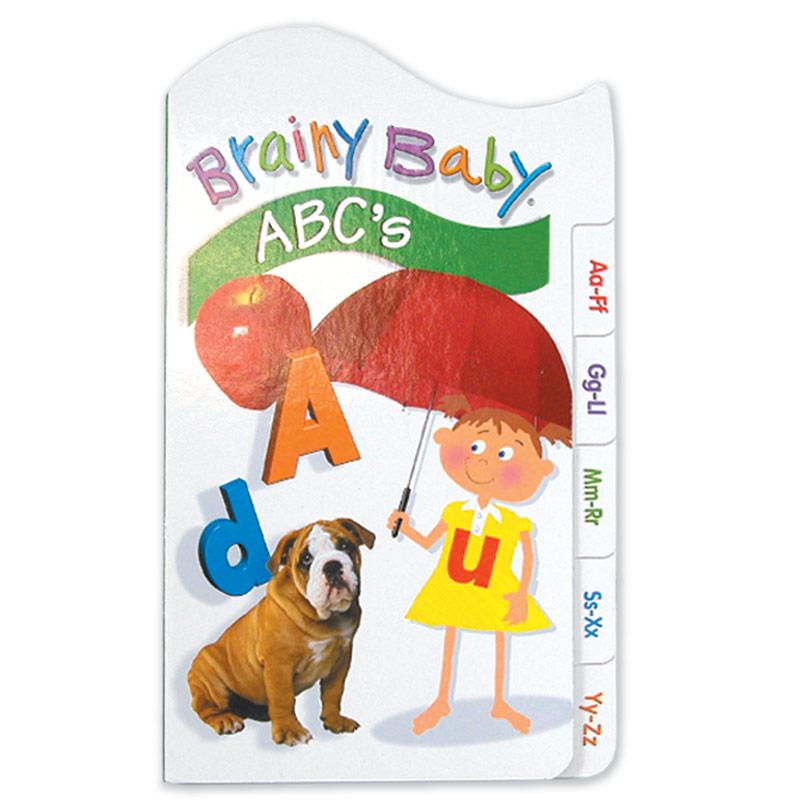 Brainy Baby Tabbed Board Book - ABC's