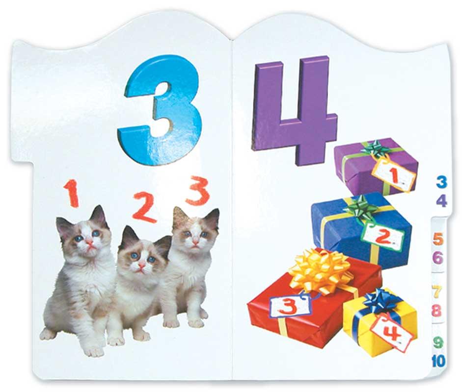 Brainy Baby Tabbed Board Book - 123's