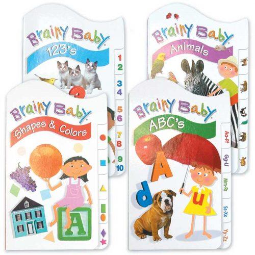 Brainy Baby Tabbed Board Book