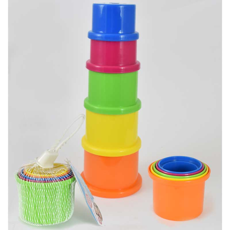 Netted Stack Up Cups Set of 5