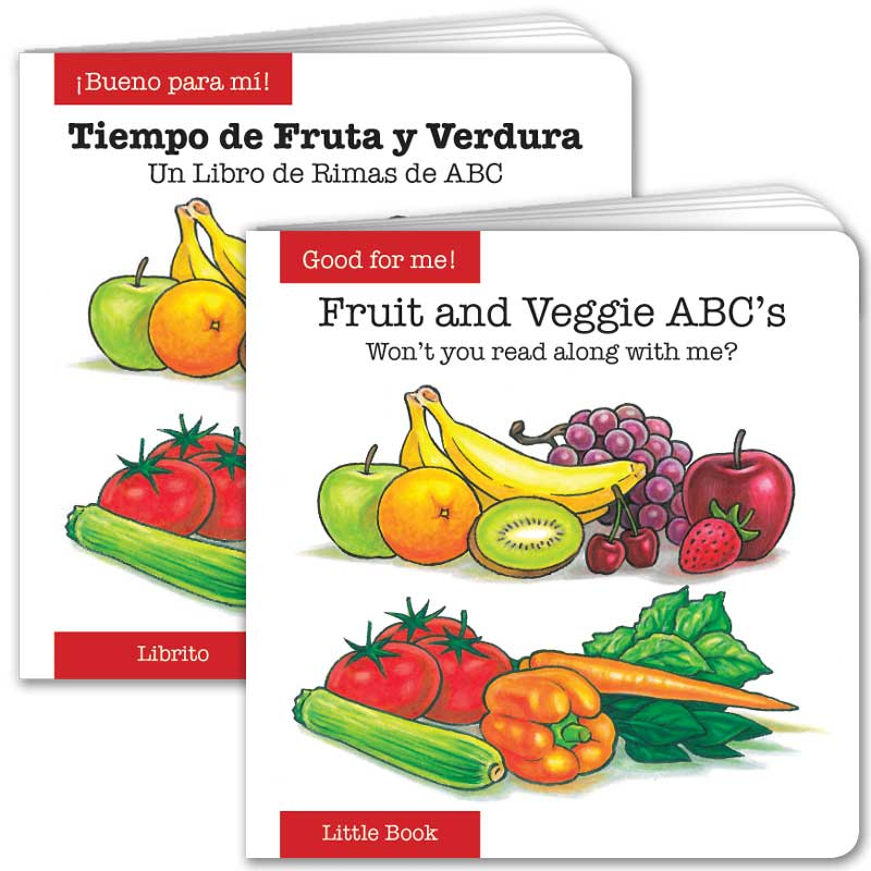Fruit and Veggie ABC's Little Book