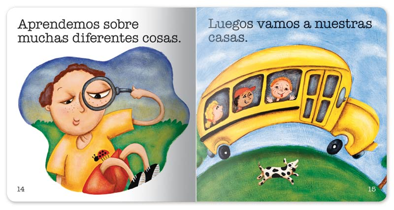 School is Fun! Little Book - Spanish
