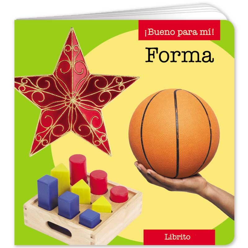 Shapes Little Book - Spanish