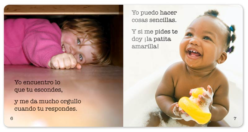 I Am One Little Book - Spanish