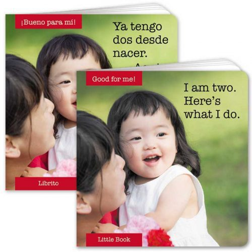 I Am Two Little Book
