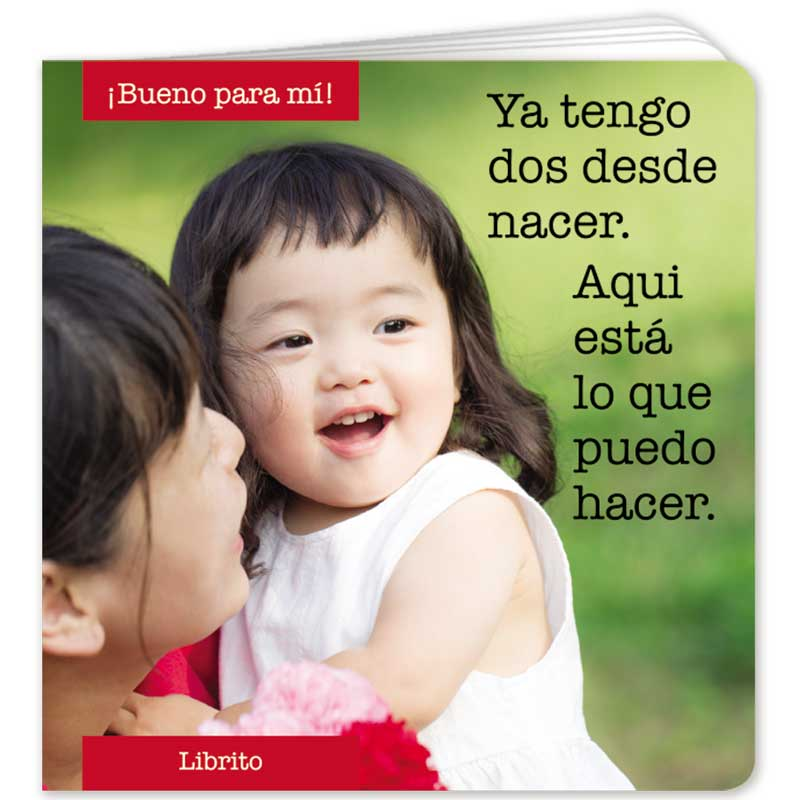 I Am Two Little Book - Spanish