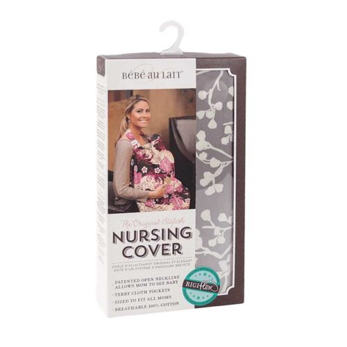 Nursing Cover Flower pattern