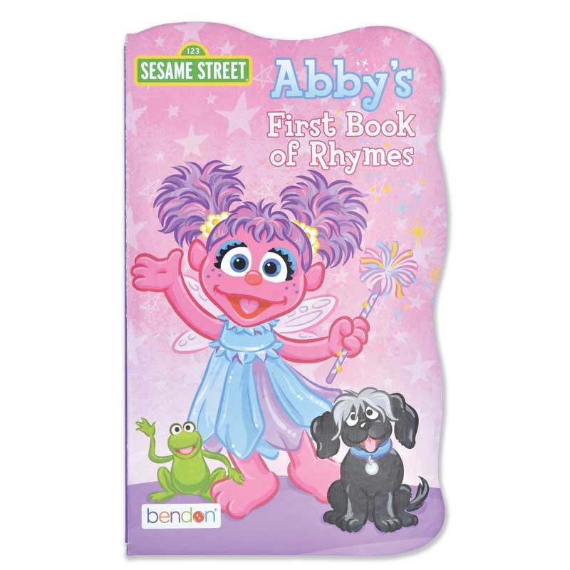 """Sesame Street """"First Book"""" Board Book Set - Abby's First Book of Rhymes"""