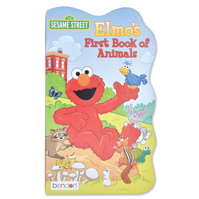 "Sesame Street ""First Book"" Board Book Set - Elmo's First Book of Animals"