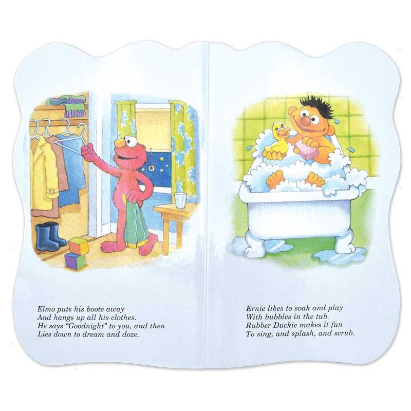 "Sesame Street ""First Book"" Board Book Set - Bedtime on Sesame Street"