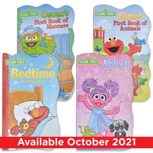 "Sesame Street ""First Book"" Board Book Set"