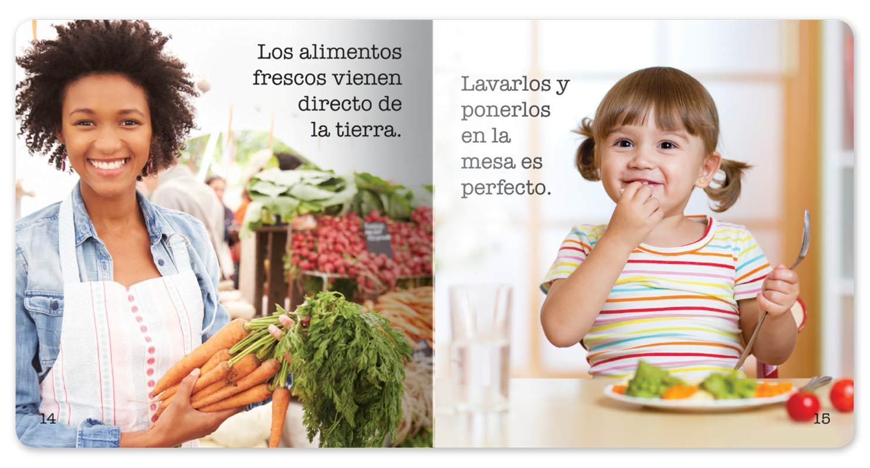 Farmer's Market Little Book - Spanish