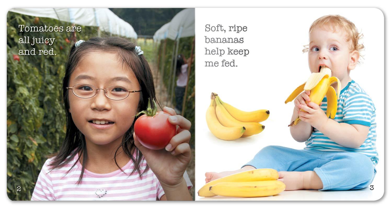 I Love Fruits and Veggies Little Book
