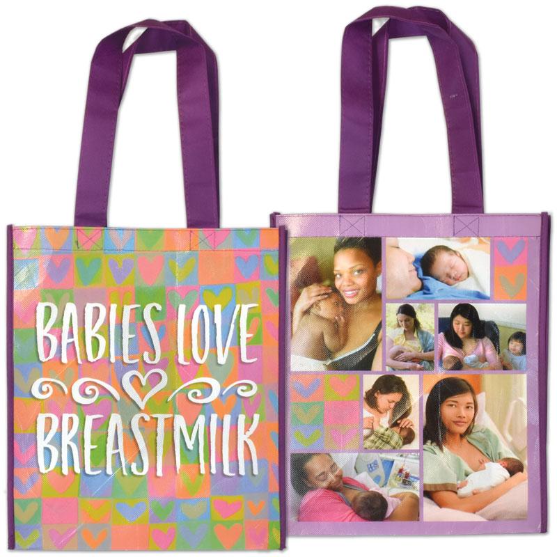 Grocery Tote Babies Love Breastmilk