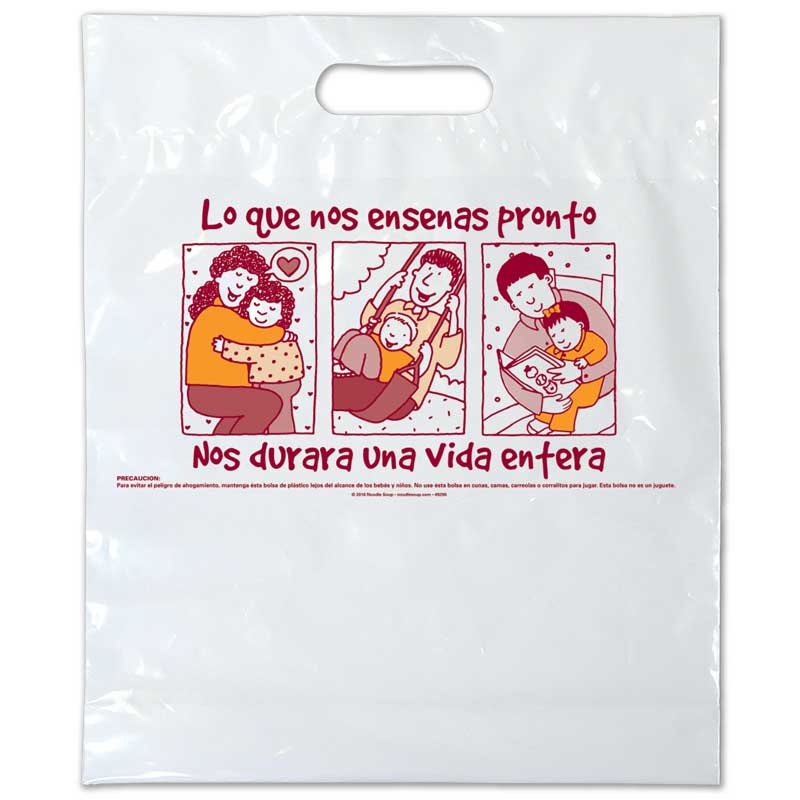 Plastic Bag What You Teach Us Early On - Spanish