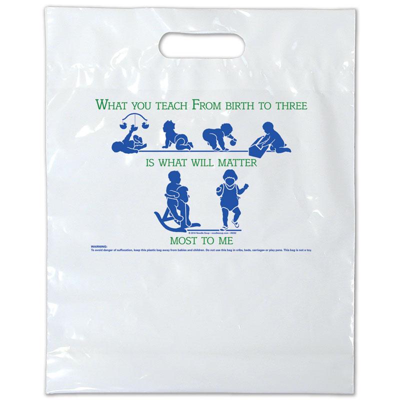 Plastic Bag Birth to Three - English