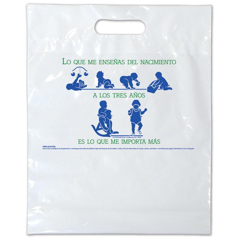 Plastic Bag Birth to Three - Spanish