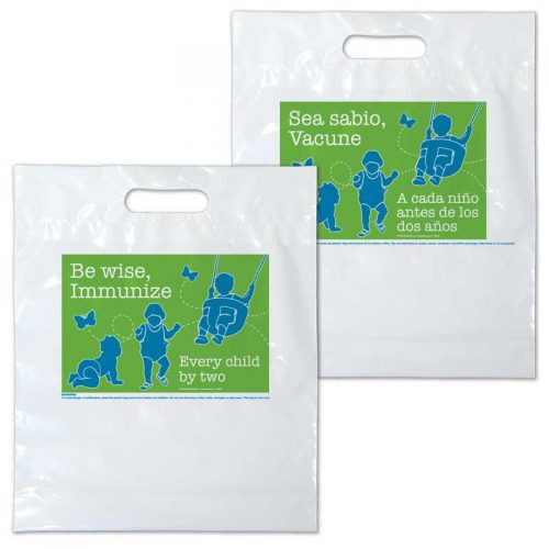 Be Wise plastic bag