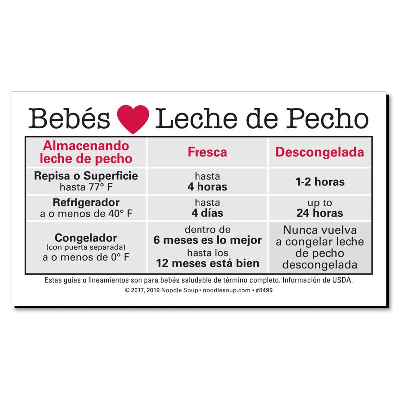 Babies Love Breastmilk - Spanish