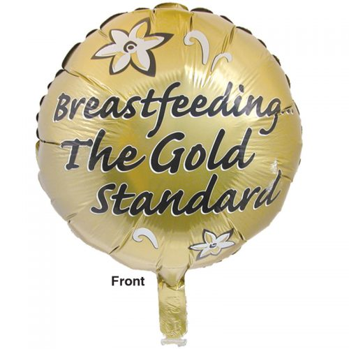Balloon Breastfeeding the Gold Standard - front