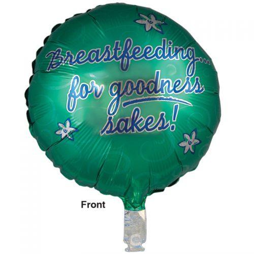 Balloon Breastfeeding for Goodness Sakes! - front