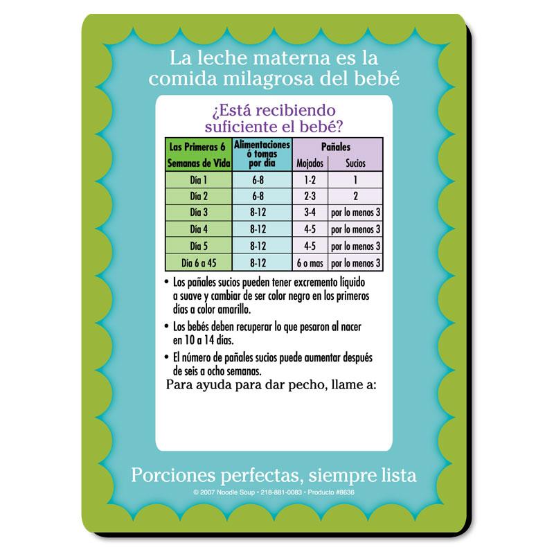 Magnet Diaper Count - Spanish