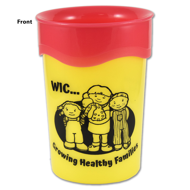 trainer cup with wic imprint