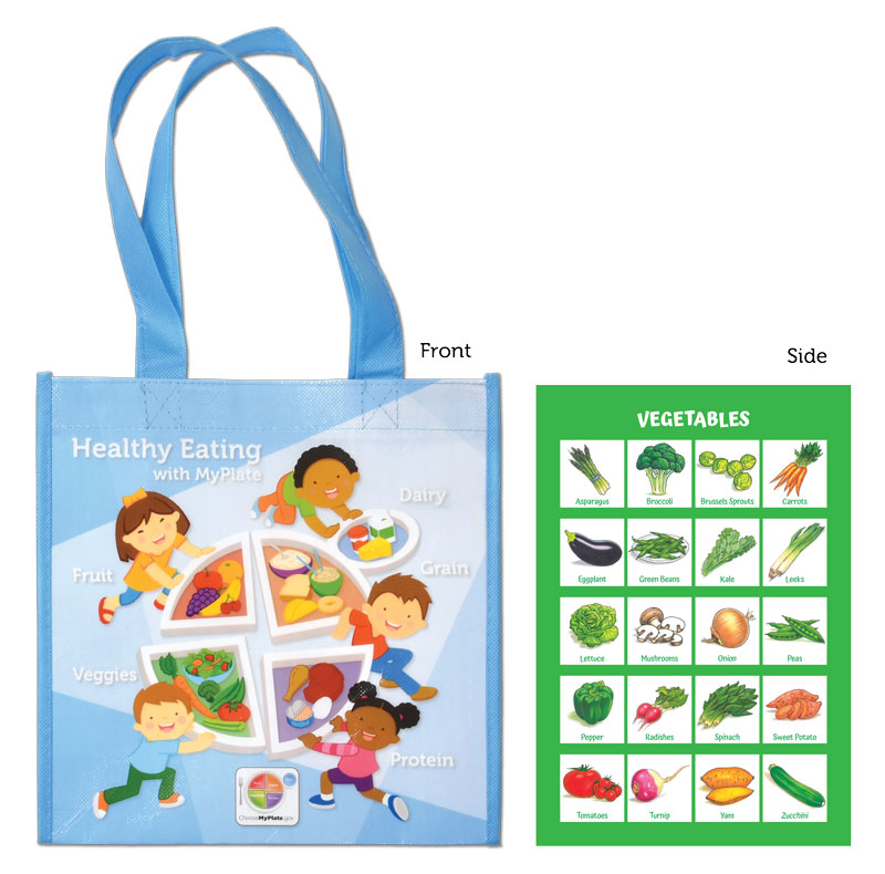 Grocery Totes MyPlate Kids Grocery Tote