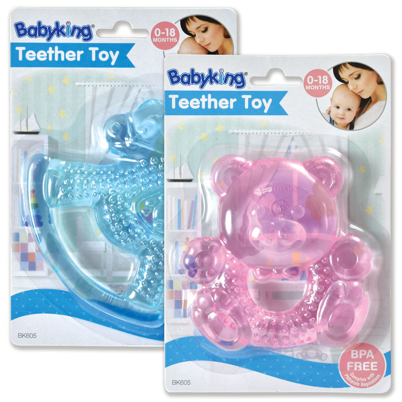 Water Filled Teether Rattles