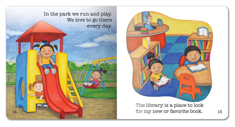 My Community Little Book - 6