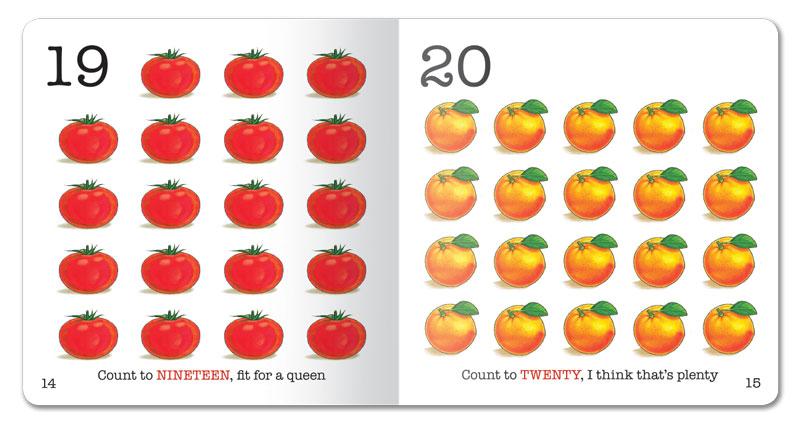 Fruit and Veggie 1-2-3