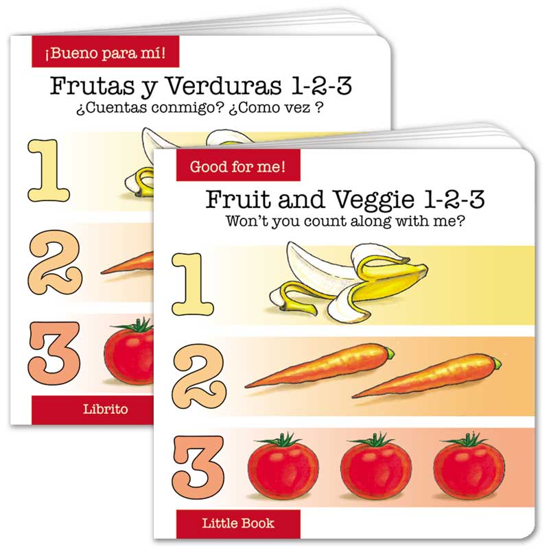 Fruit and Veggie 1-2-3 Little Book