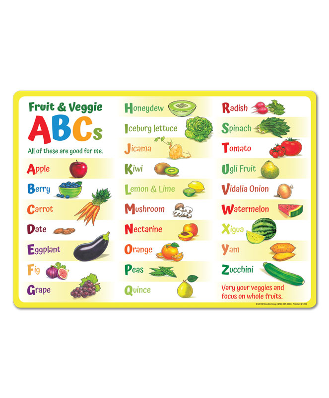 MyPlate for Kids 7-Piece Kit - Placemat