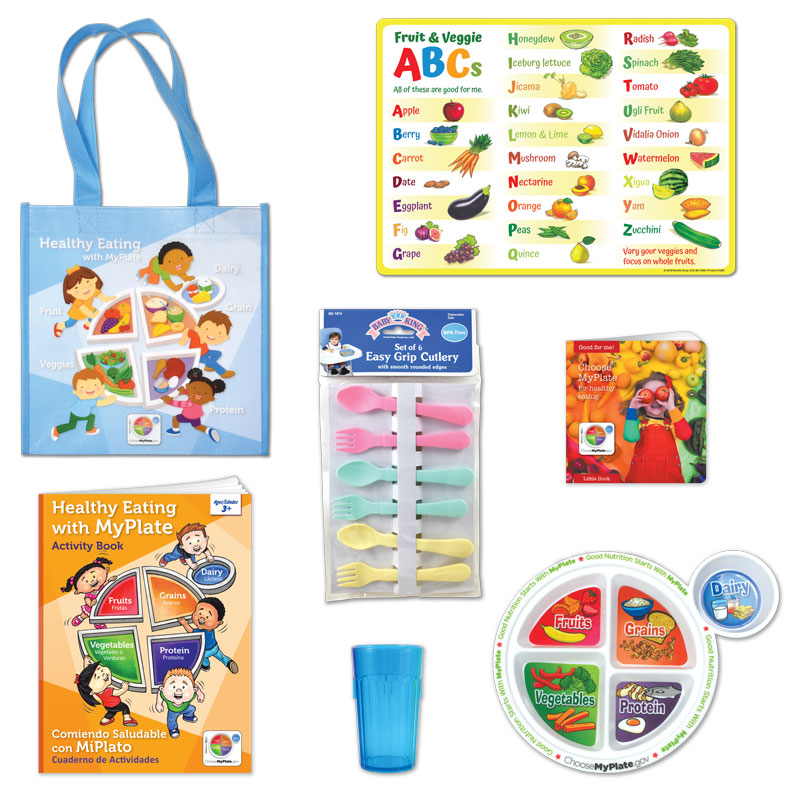 MyPlate for Kids 7-Piece Kit