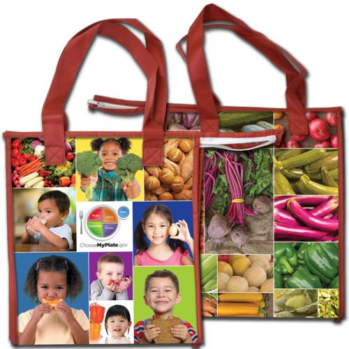 Farmers Market Insulated Grocery Tote
