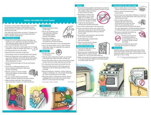 Home Safety Checklist - English