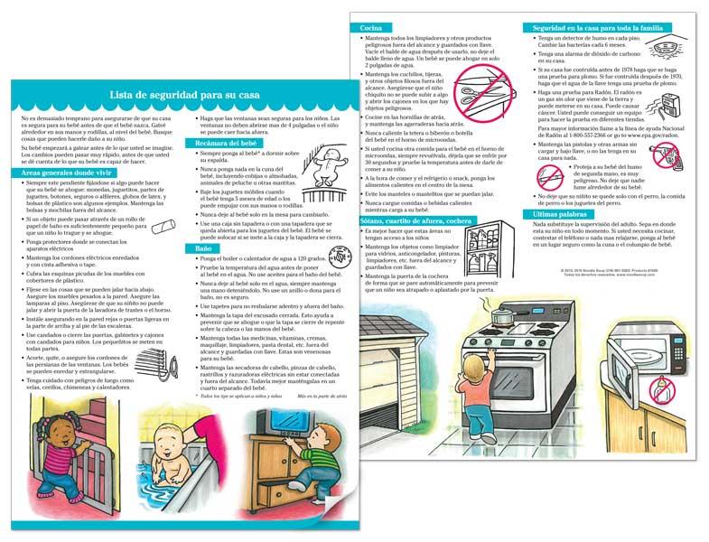 Home Safety Checklist - Spanish