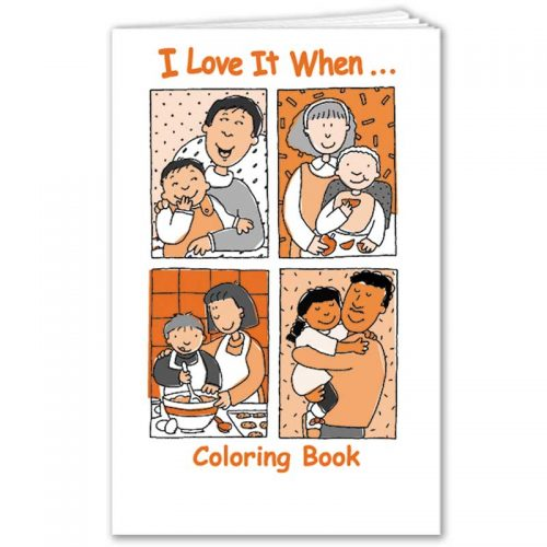 I Love it When coloring book - English