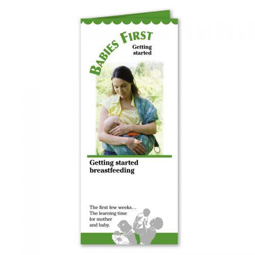 Getting Started Breastfeeding - English