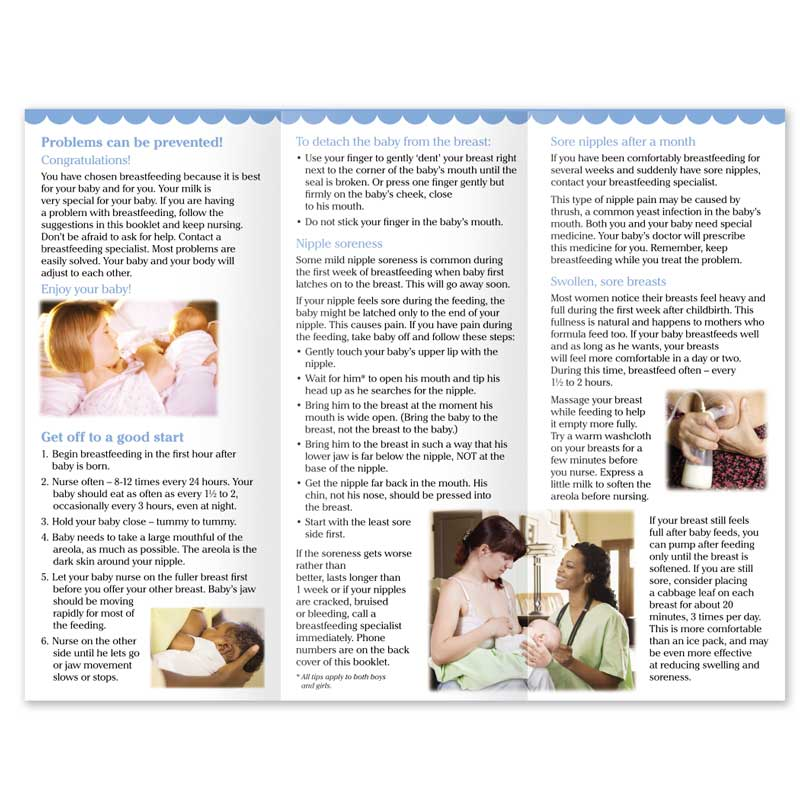Answers for Breastfeeding Problems - English