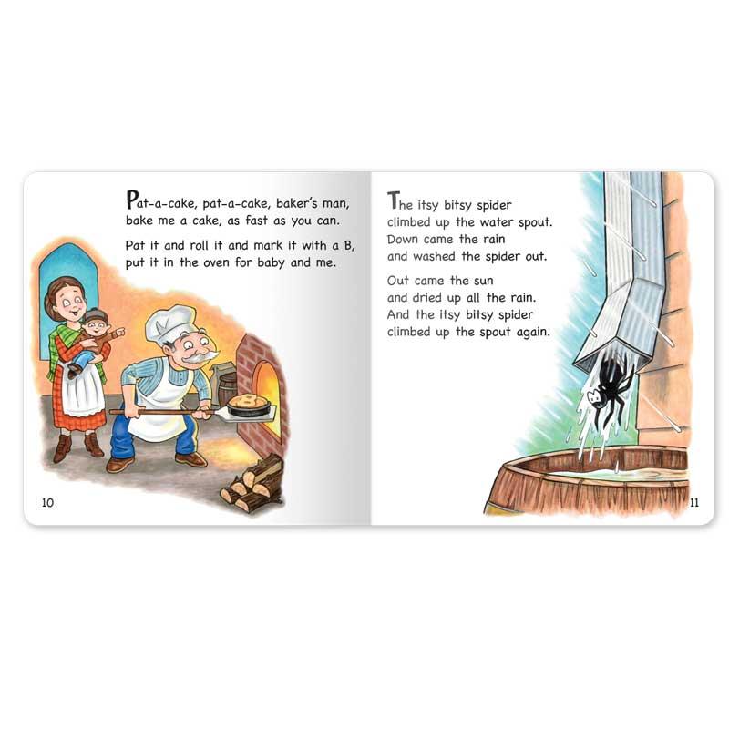 Nursery Rhymes Board Book set
