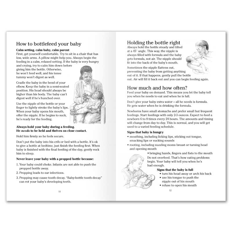 Feeding Your Baby booklet